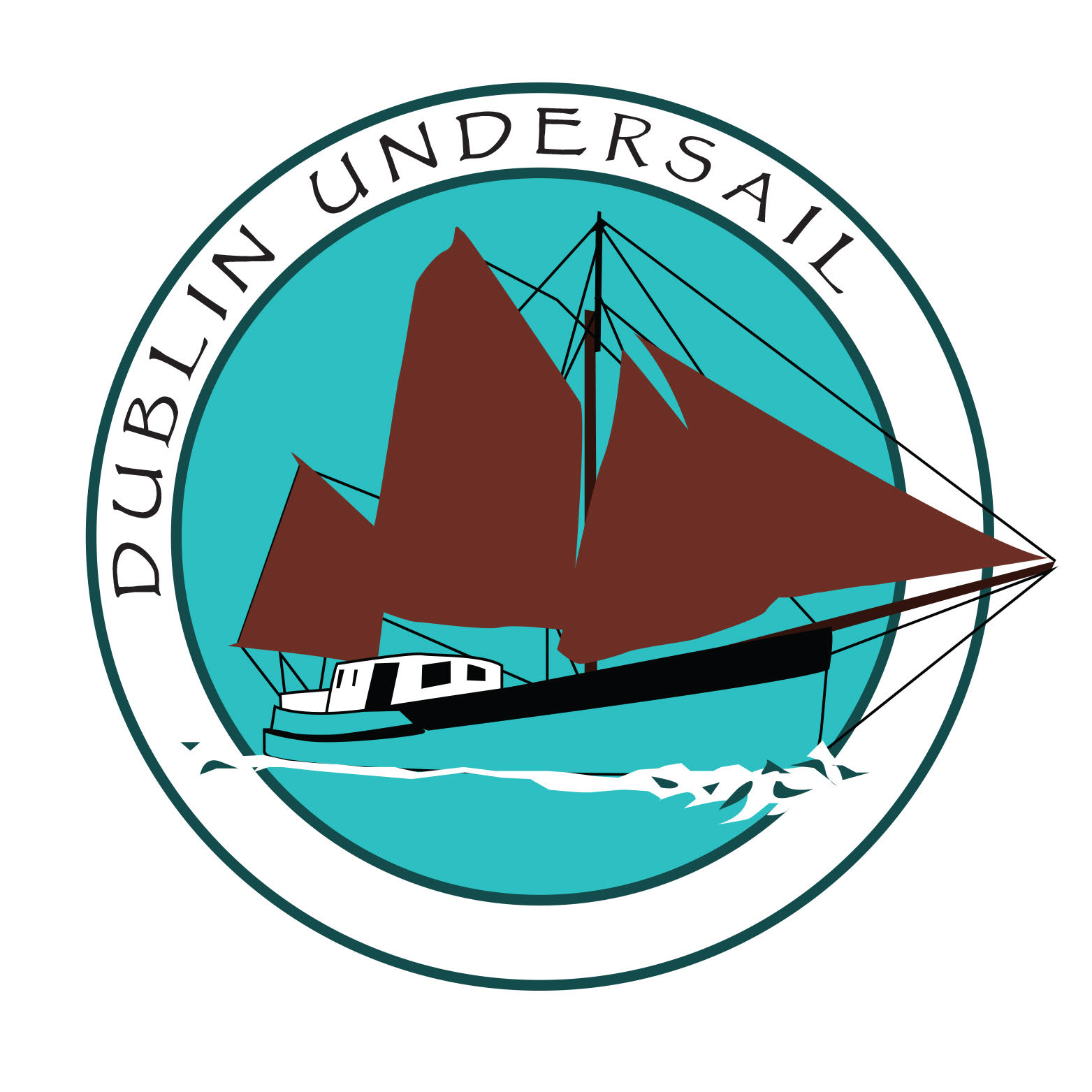 Logo for Dublin Under Sail